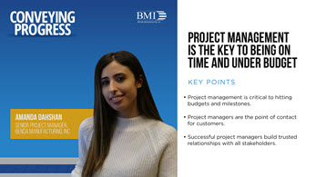 Conveying Progress: Project Management Is the Key to Being On Time and Under Budget